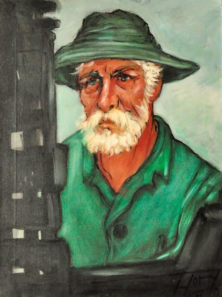Retrato sin titulo, 1975