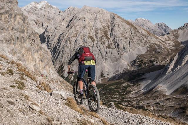 MTB Innsbruck Nordkette Mountainbike Tour Hafelekar 2334 m.ü.A.
