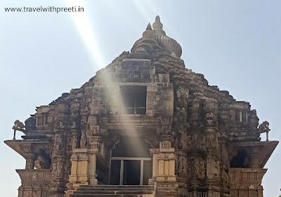 वामन मंदिर खजुराहो - Vamana Temple Khajuraho