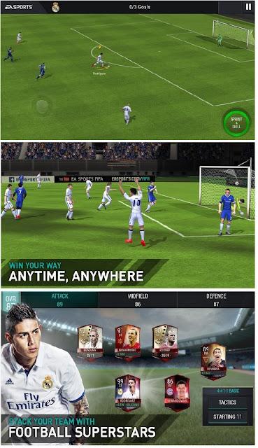 niscaya kalian sudah tidak sabar menunggu versi terbaru dari game sports yang satu yakni FI Download FIFA 18 Mobile Soccer APK MOD for Android v8.2.00