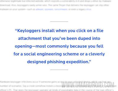 Aplikasi Keylogger Malware