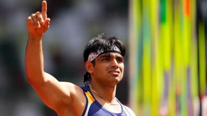 Neeraj Chopra Olympic Medalist