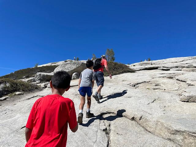 Hiking Sentinel Dome