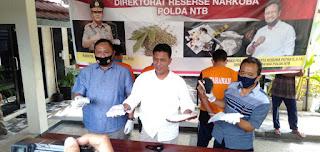 Satu Kilo Sabu Senilai Rp1,2 M Asal Aceh Berhasil Diamankan Polda NTB