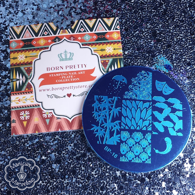 Born Pretty Store - Stamping Plate BP-18