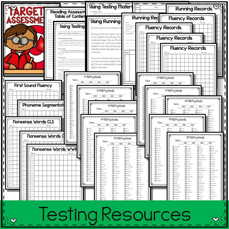 1st Grade Pandamania: TARGETED Guided Reading