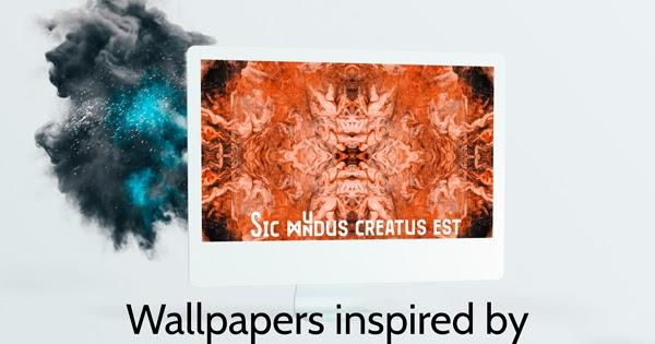 Sic mundus creatus est - Dark Inspired Wallpapers