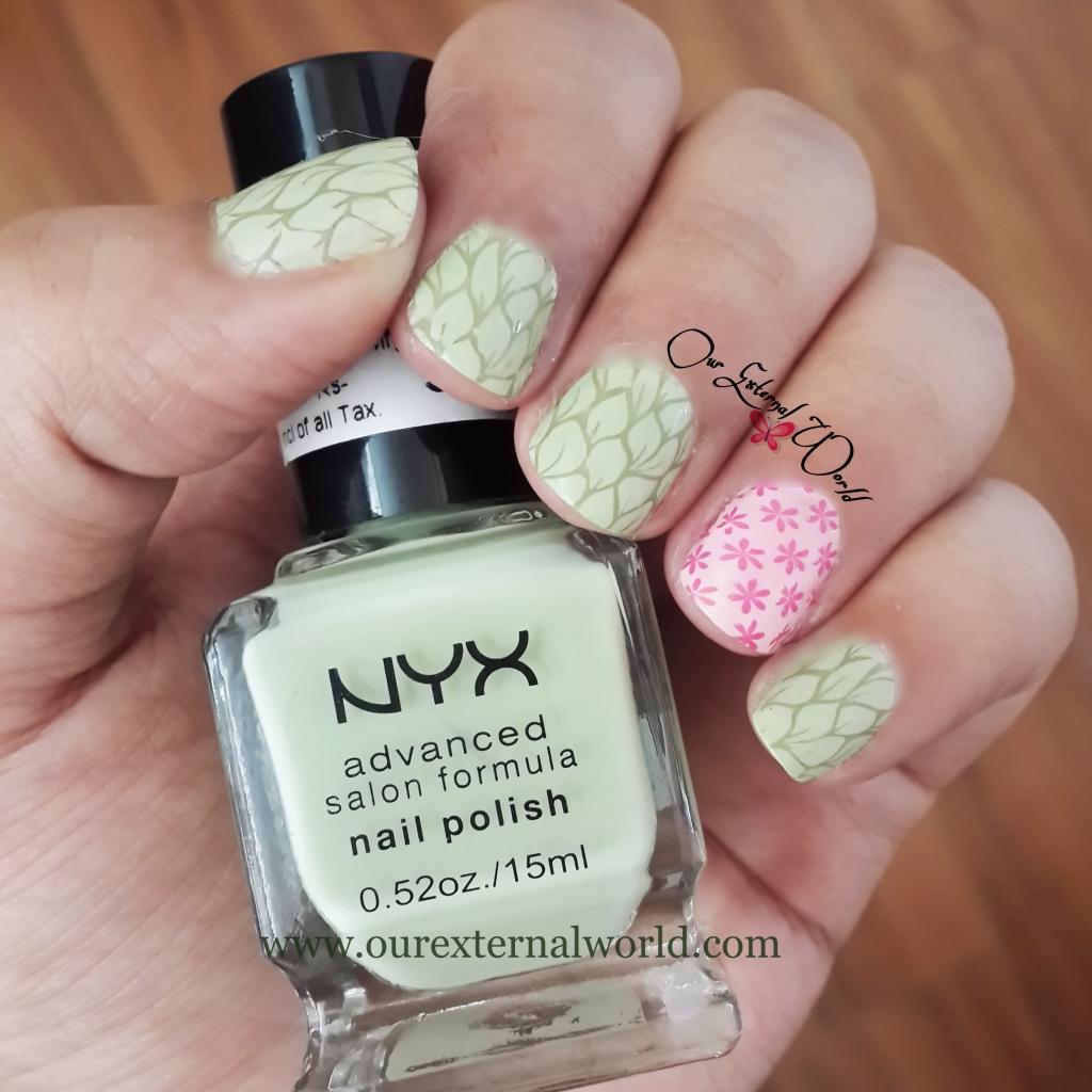 NYX Advanced Salon Formula Nail Polish - NPS230 - Pastel ...