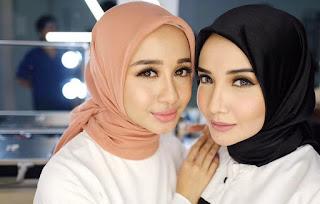 tutorial jilbab rapi dan simpel seperti Laudya Chintya Bella
