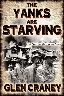 The Yanks are Starving by Glen Craney-book cover