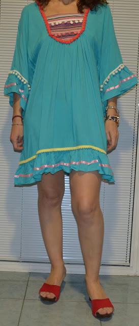 Vestido borlones de Mais Moda