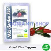 Benih Cabe Hias Unggara Mix Garden