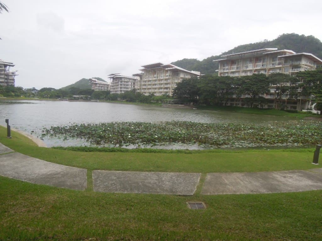 View of the lake at Pico de Loro Beach & Country Club