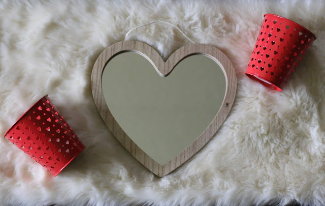 Valentine's Day decor at Target Dollar Spot
