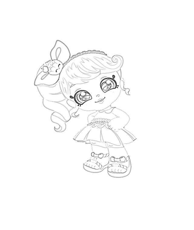 Coloring Pages: Kindi Kids Dolls Coloring Pages Free and ...