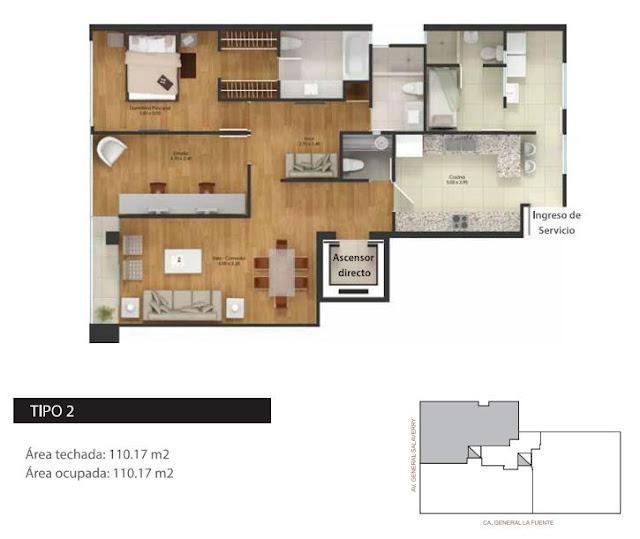 Planos de departamentos en 110m2 planos de casas gratis for Planos de departamentos de 40m2