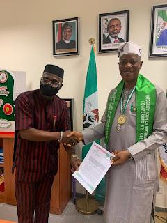 Reps Member, Olaifa Jimoh Aremu (OJA) Bags Integrity Icon Award