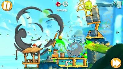 تحميل مباشر - لعبة Angry Birds 2 مهكرة للاندرويد