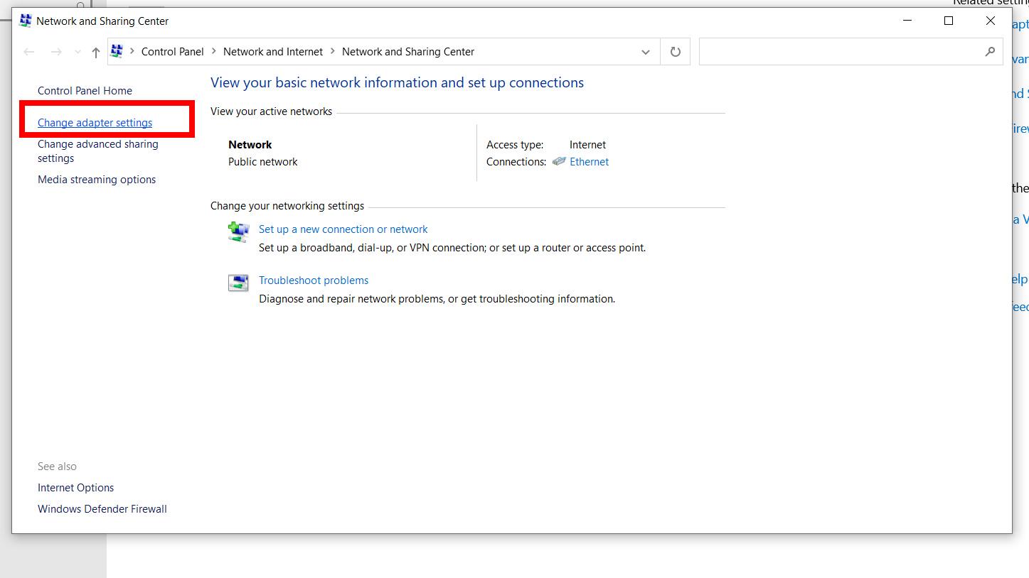 Hướng dẫn dổi DNS trên máy tính Windows 10