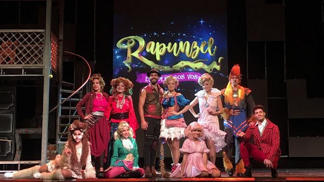 """Flor Otero, Benjamin Alfonso, Anita Martínez y Luly Drozdek presentaron """"Rapunzel, el sueño sos vos"""""""