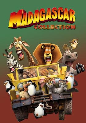 Madagascar Colección DVD R1 NTSC Latino