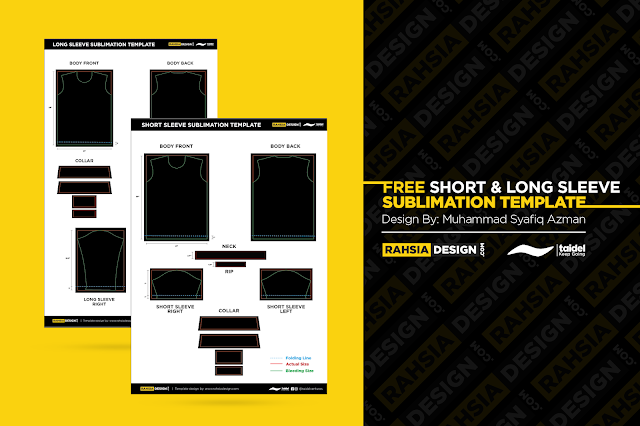 FREE SUBLIMATION TEMPLATE