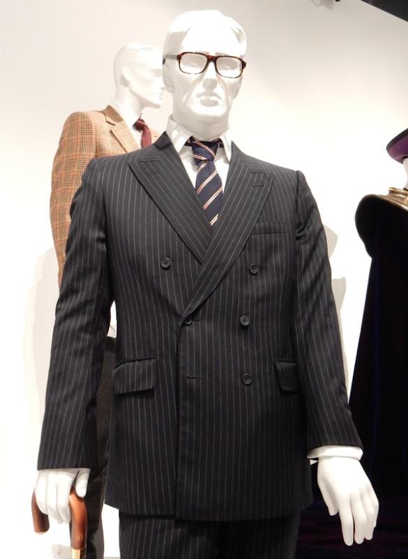 Taron Egerton Kingsman Secret Service pinstripe suit