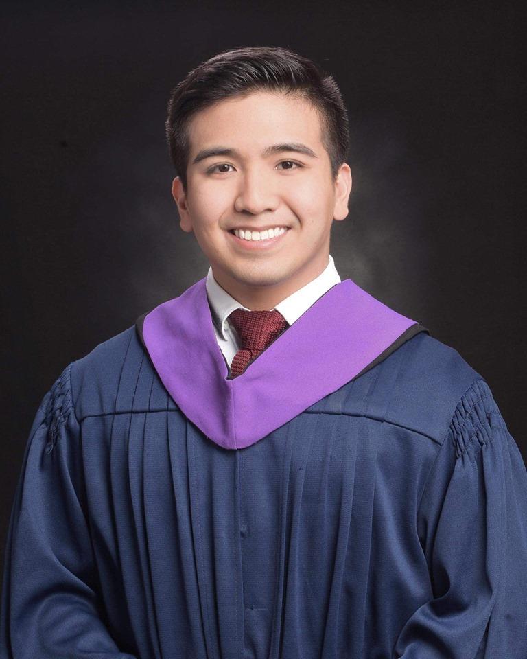 Congratulations, Sean James B. Borja of Ateneo de Manila University!