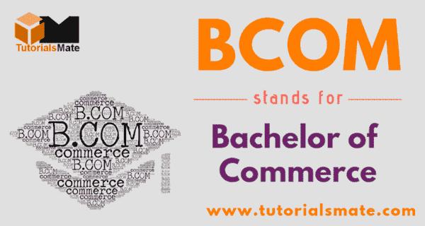 BCOM Full Form