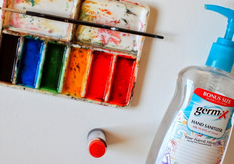 2 ingredients to make homemade body paint