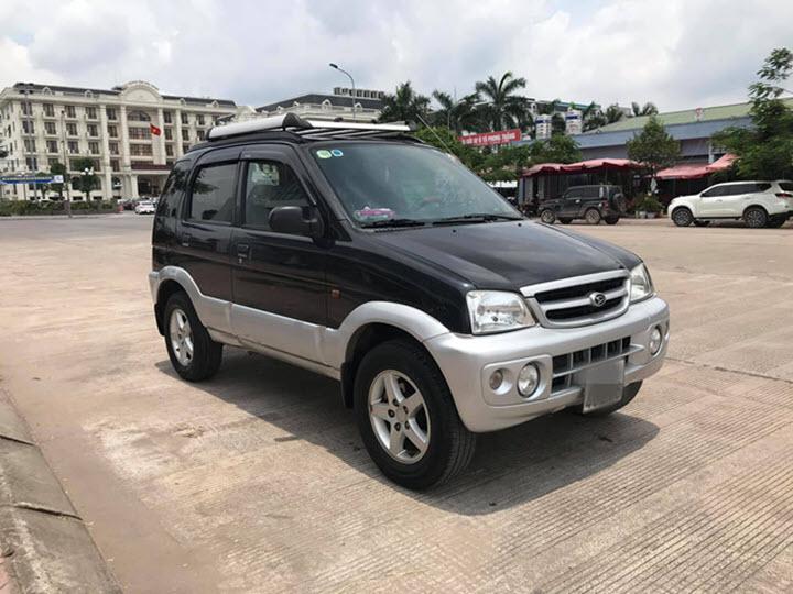 Daihatsu Terios giá chưa tới 200 triệu đồng sau 15 năm sử dụng