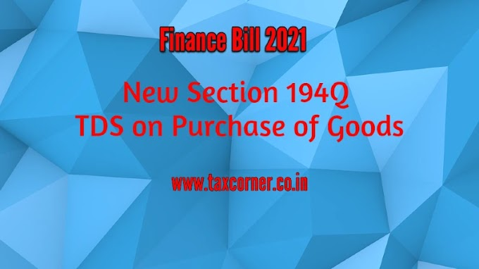 New Section 194Q-TDS on Purchase of Goods