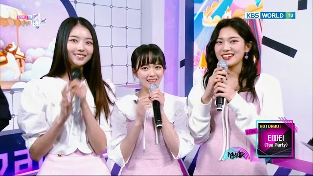 Knetz gets excited after see KBS Drama 'Imitation' Girlgroup Tea Party in KBS Music Bank!