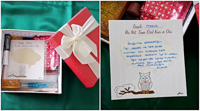 Kırmızı Rujlu Blog hediyeleri-Blana'ya sonsuz teşekkürler