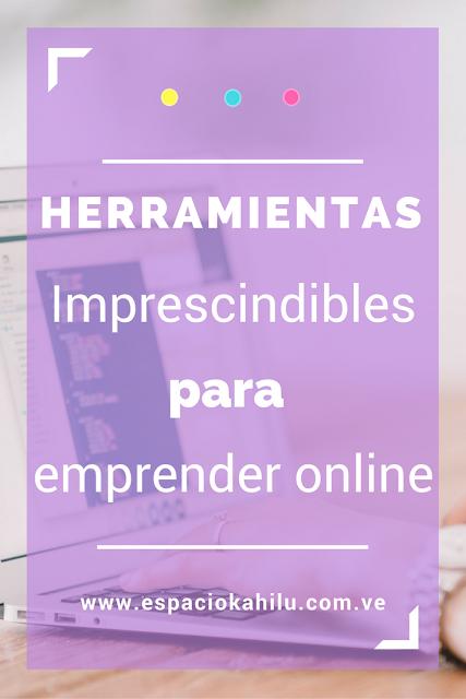 herramientas imprescindibles para emprender online
