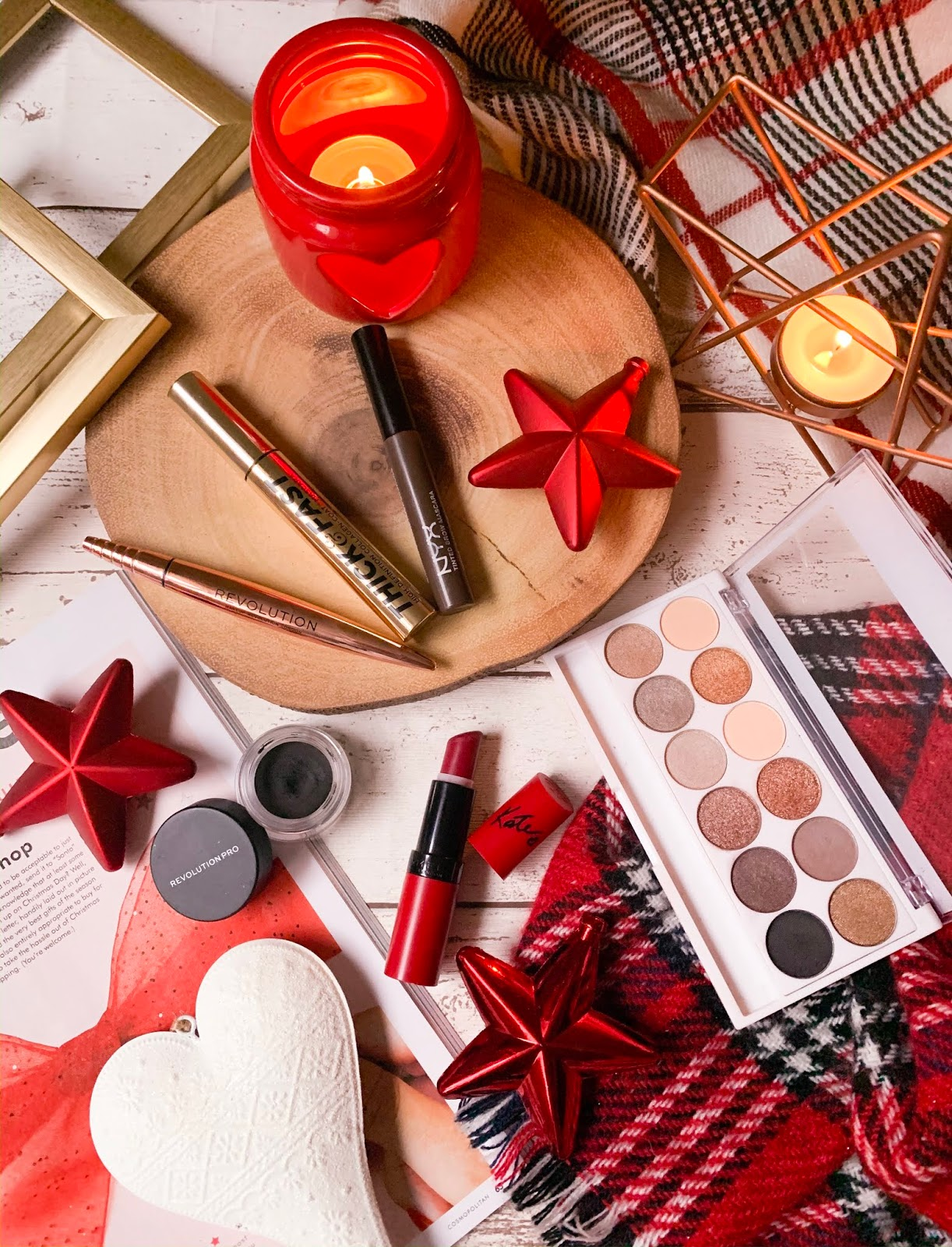 Eye Products Perfect For Christmas Flatlay