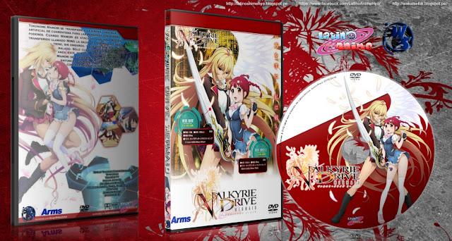 Valkyrie Drive: Mermaid - SIN CENSURA | 12/12 + 6 Especiales | Cover DVD | 720p | MEGA |