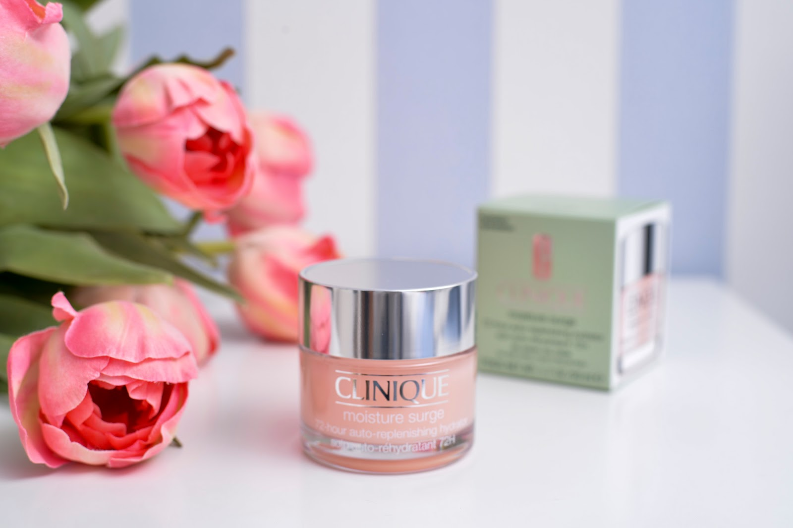 clinique beauty skincare top products serum moisturizer cleanser moisture surge boost pink
