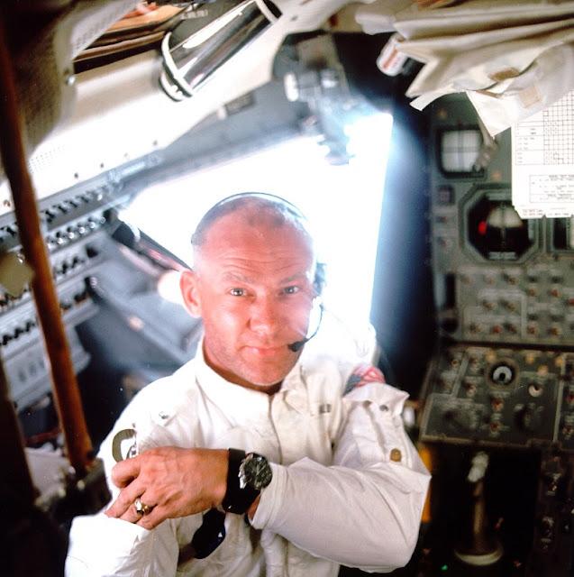 Buzz Aldrin - modulo lunar