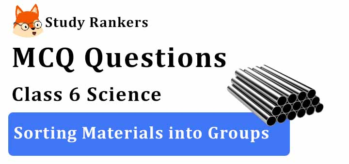 MCQ Questions for Class 6 Science: Ch 4 Sorting Materials into Groups