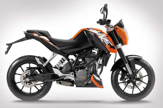 KTM 200 Duke side image
