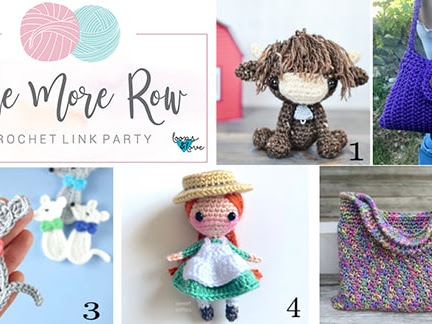 One More Row - Free Crochet Link Party 21