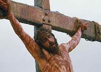 Jesus morto na cruz