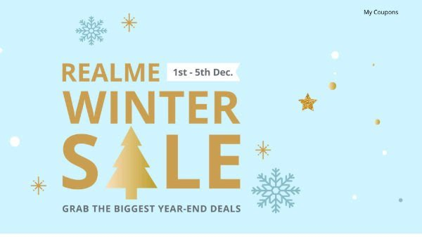 Realme Winter Sale Get Discounts on Realme 5 Pro, Realme C2,Realme 3 Pro and more