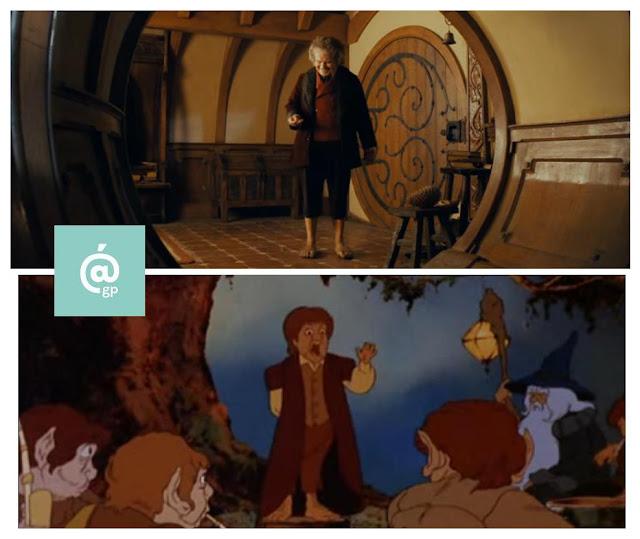 Bilbo - El Señor de los Anillos: Peter Jackson Vs Ralph Bakshi - JRRTolkien - ÁlvaroGP - el fancine - el troblogdita