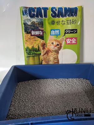 Kemasan Pasir Gumpal Kucing Happy Cat Sand