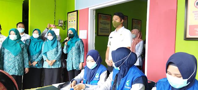 Bupati Bareng Ketua TPKK Sinjai Pantau Vaksinasi Covid-19 di Puskesmas Lappadata