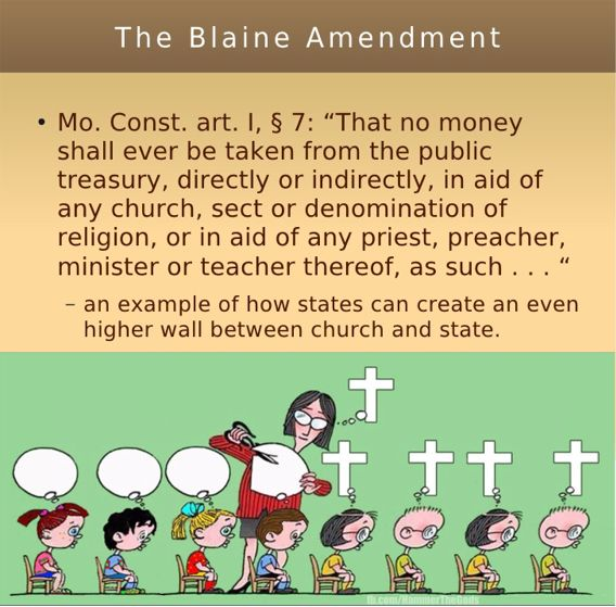 Big Education Ape: Symposium: Do Blaine amendments create a public ...