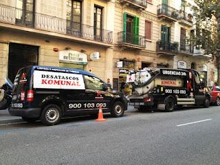 Desatascos urgentes 24 horas en Hospitalet