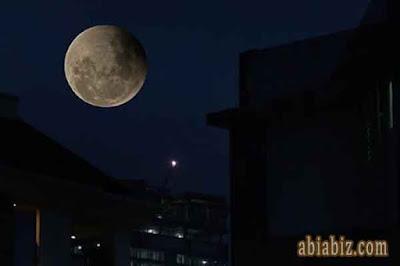 sholat gerhana bulan
